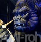 6メートル、13人がかりの操演怪獣 ミュージカル版キングコング
